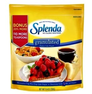 Splenda Granulated No Calorie Sweetener