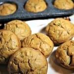Sugar Free Zucchini Muffins