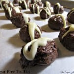 EASY Sugar Free Chocolate Truffles