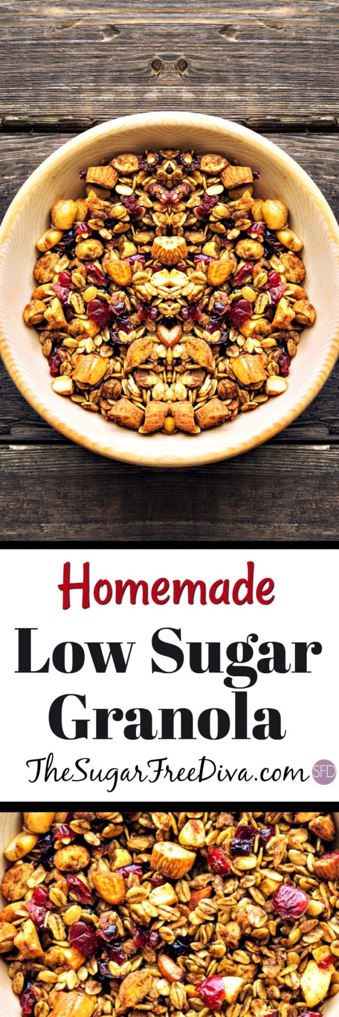 Low Sugar Homemade Granola