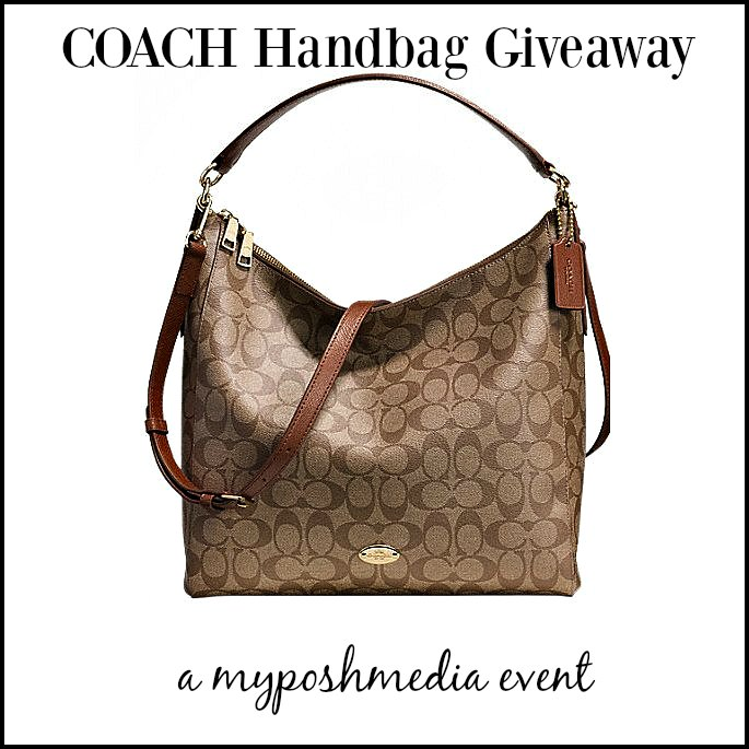 Enter the Coach Celeste Convertible Hobo Handbag Event. Ends 1/31