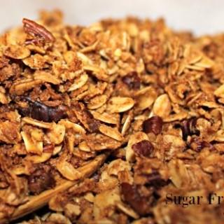 Sugar Free Cinnamon Granola Recipe