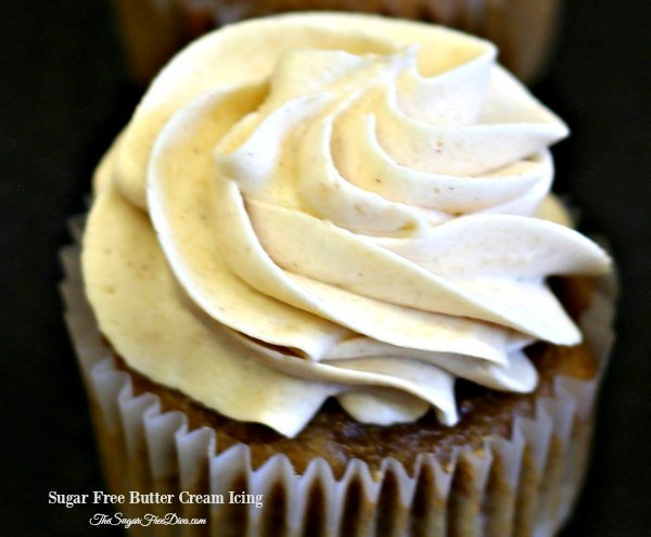 Sugar Free Buttercream Icing