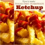 How to Make Sugar Free Ketchup