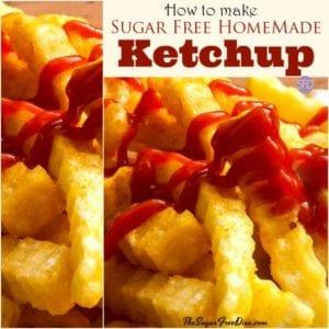 How to Make Sugar Free Ketchup