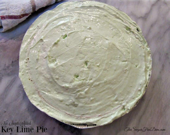 No Added Sugar- Key Lime Pie