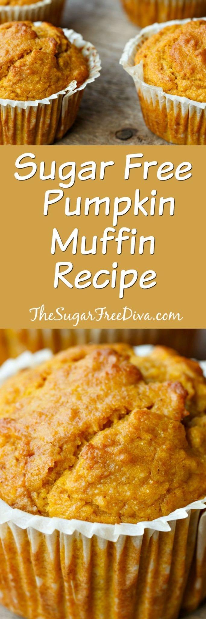 Sugar Free Pumpkin Muffin Recipe