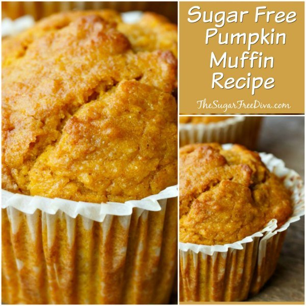 Sugar Free Pumpkin Muffin Recipe