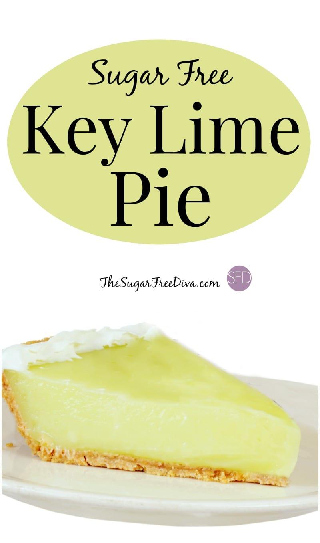 Sugar Free Key Lime Pie