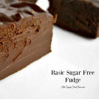 Basic Sugar Free Fudge