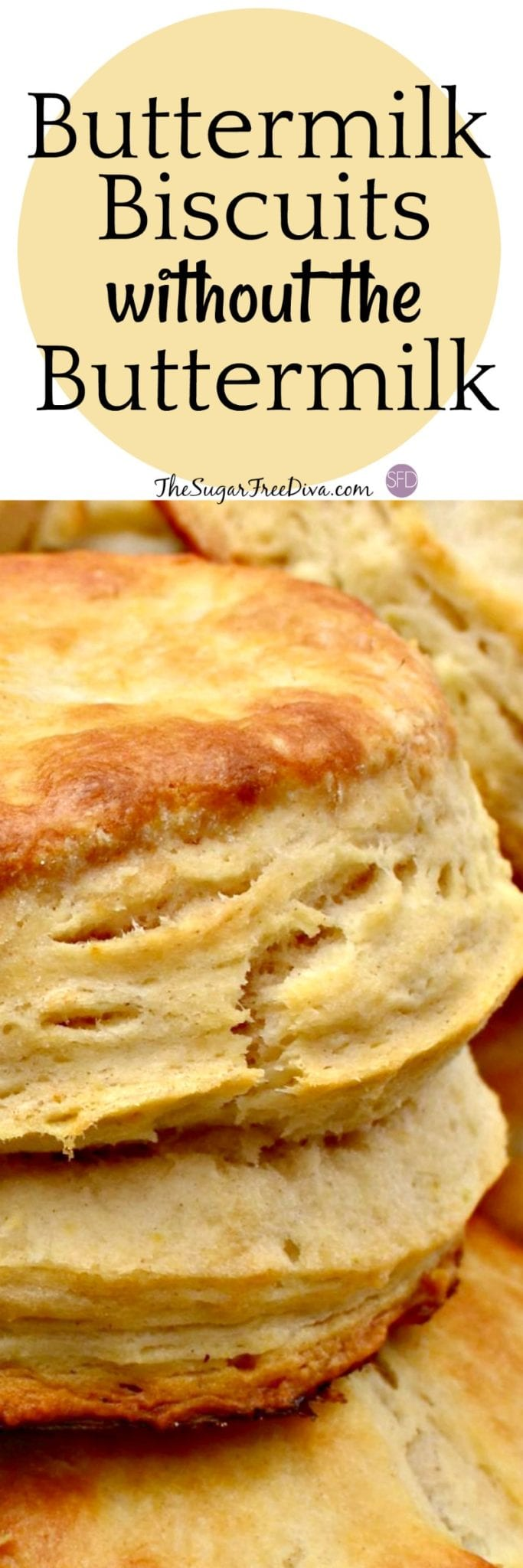 How to Make Buttermilk Biscuits Without the Buttermilk
