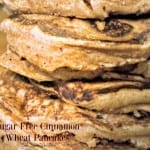 Sugar Free Cinnamon Wheat Pancakes