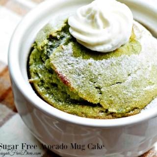 The Sugar Free Avocado Mug Cake