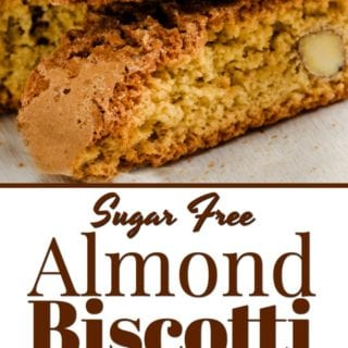 Sugar Free Almond Biscotti Recipe