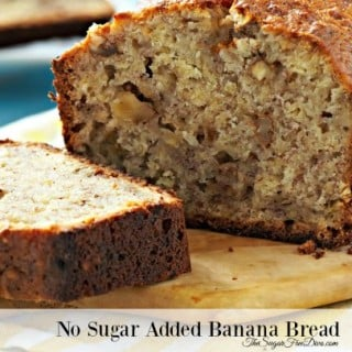 No Sugar Added Banana Bread