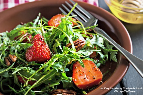 Quick and Easy Strawberry Vinaigrette Salad
