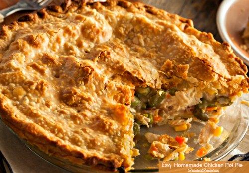 Family Style Chicken Pot Pie Recipe
