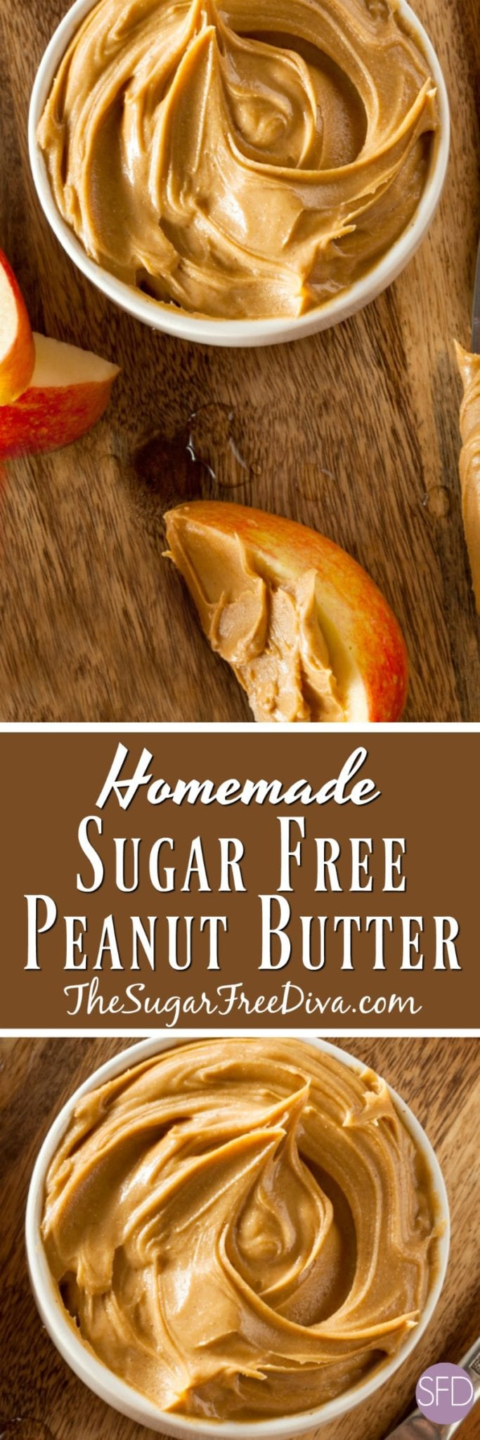 How to Make Homemade Sugar Free Peanut Butter #sugarfree #keto #peanutbutter #recipe #easy #diy