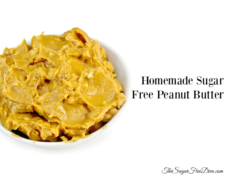 Homemade Sugar Free Peanut Butter