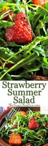Quick and Easy Strawberry Summer Salad