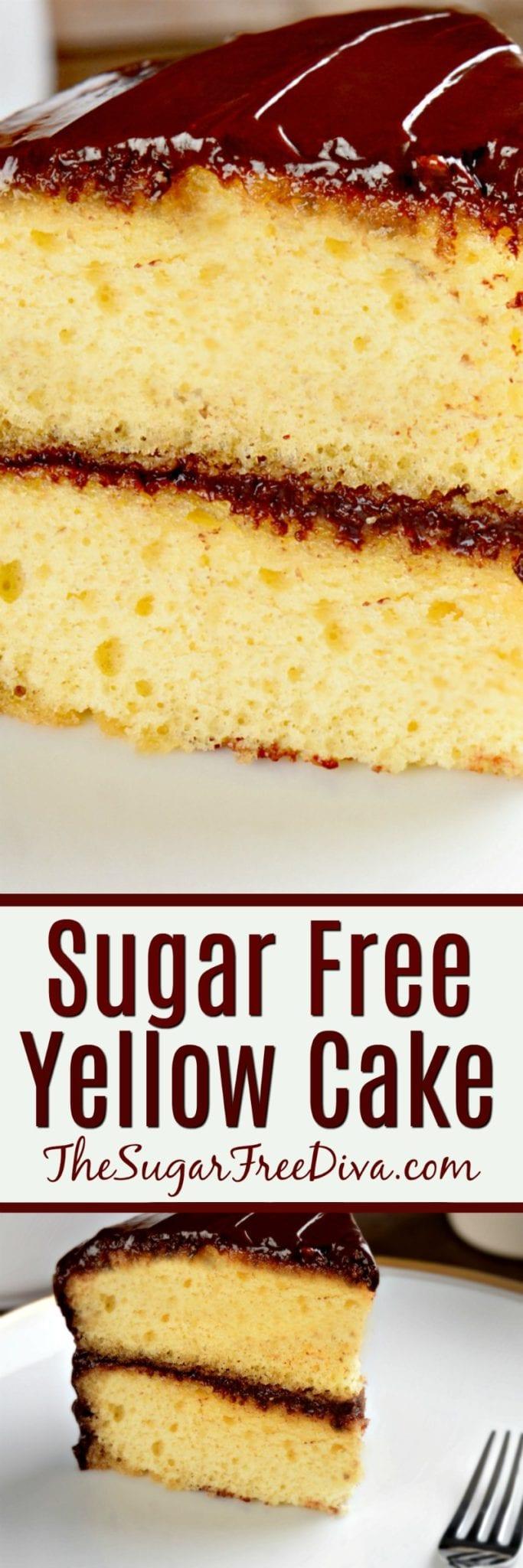 How To Bake A Sugar Free Birthday Cake