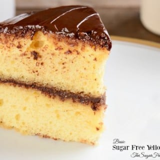 Sugar Free Basic Yellow Cake