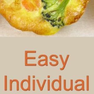 Easy Individual Muffin Frittatas Recipe