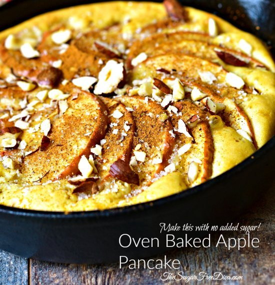 Oven Baked Apple Pancake