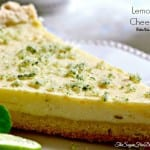 Sugar Free Lemon Lime Cheesecake