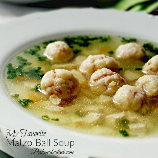 My Favorite Matzo Ball Soup