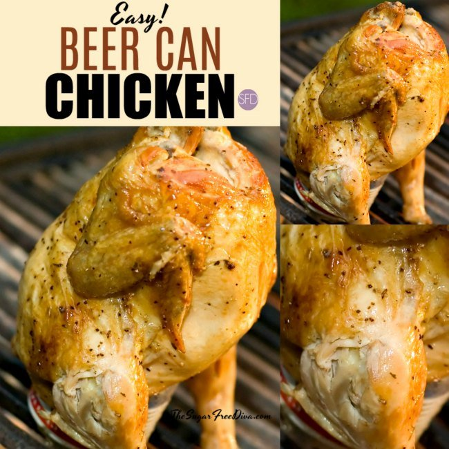 Easy Beer Can Chicken