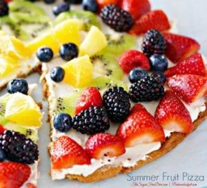 Strawberry Fruit Pizza
