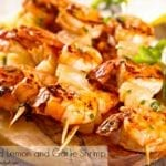 Easy Grilled Lemon Garlic Shrimp