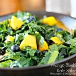 Summer Fruit and Kale Salad