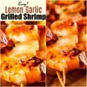 Easy Grilled Lemon Garlic Shrimp