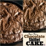 Sugar Free Chocolate Skillet Cake