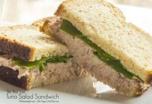 The Best Tuna Salad Sandwich Ever...