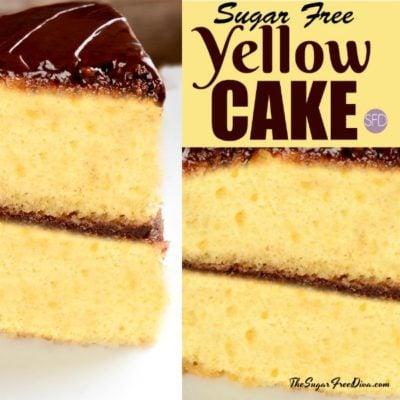 Sugar Free Yellow Cake