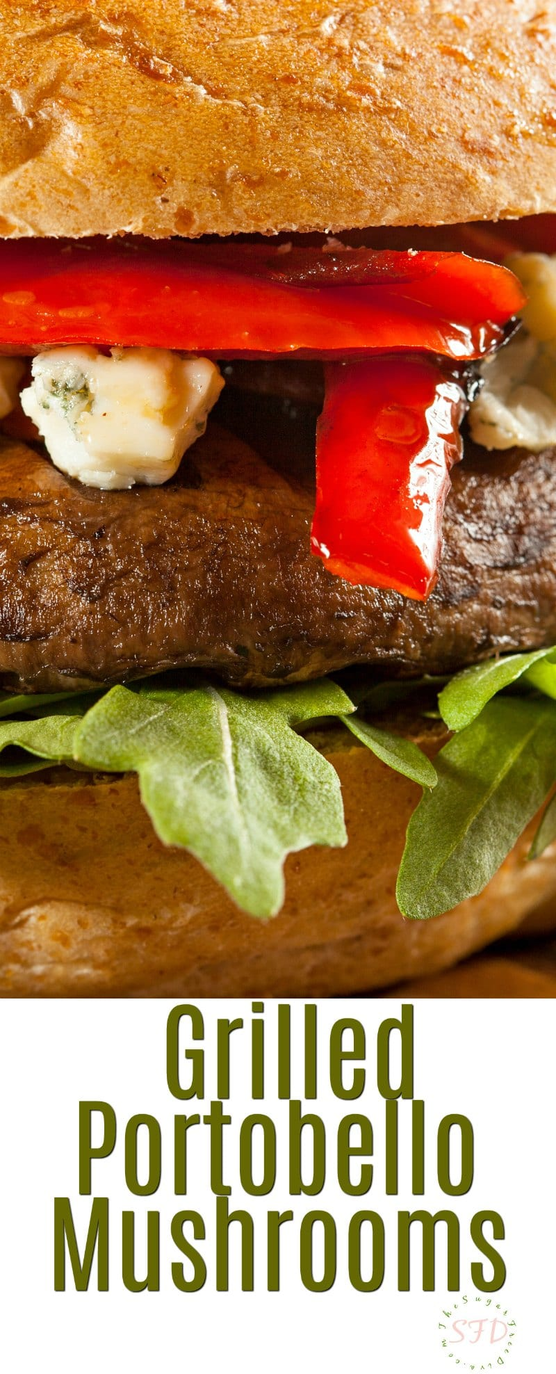 How to Grill  Portobello Mushrooms
