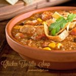 Simple Chicken Tortilla Soup Recipe