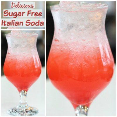 Delicious Sugar Free Italian Soda