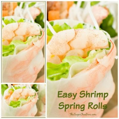 Easy Shrimp Spring Rolls