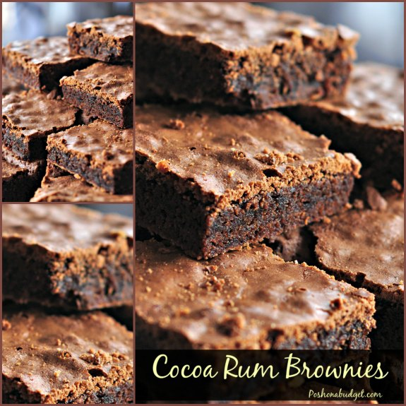 Cocoa Rum Brownies- Make These With No Added Sugar!