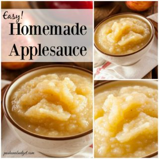 Apple Sauce Without the Added Sugar