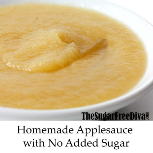 How to Make Apple Sauce Without the Added Sugar