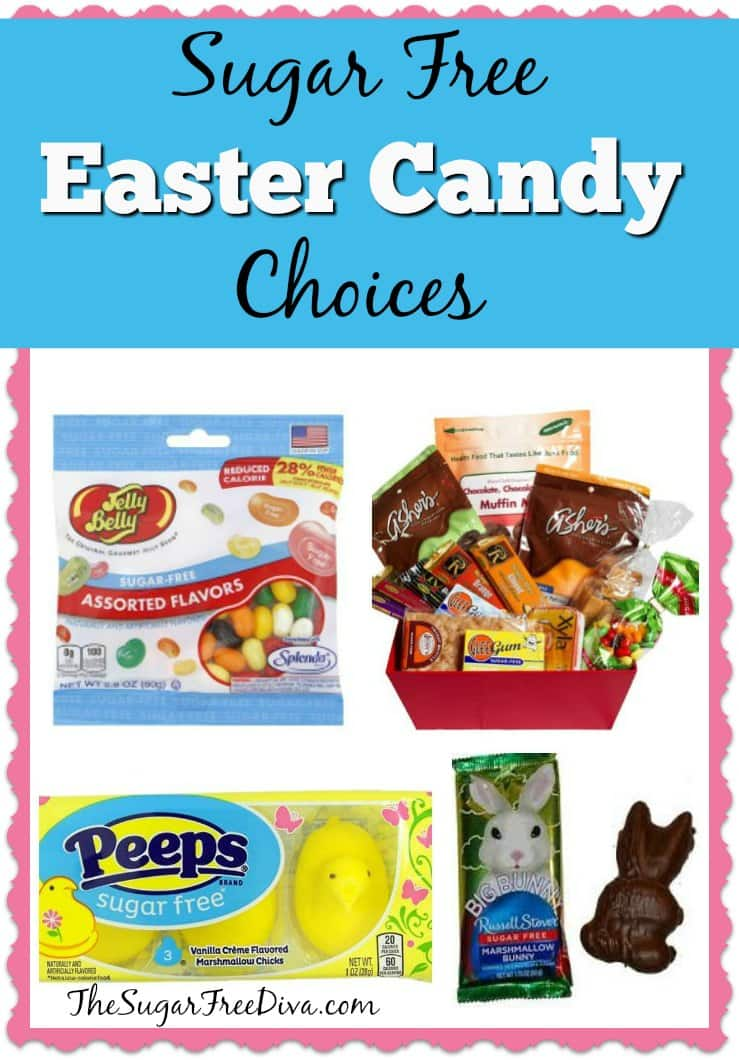 Sugar Free Easter Candy Choices