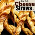 Low Carb Cheese Straws Recipe