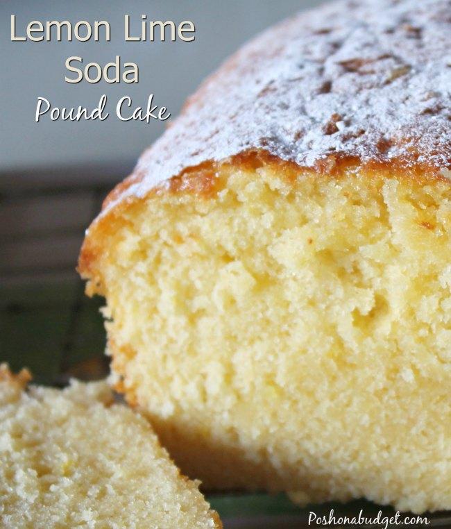 Sugar Free Version of Lemon Lime Soda Pound Cake