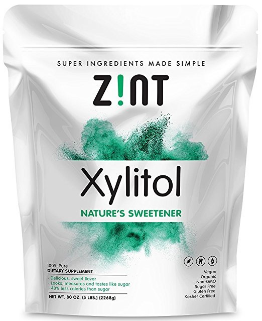 Zint Xylitol: Non-GMO, All-Natural Sweetener and Sugar Substitute