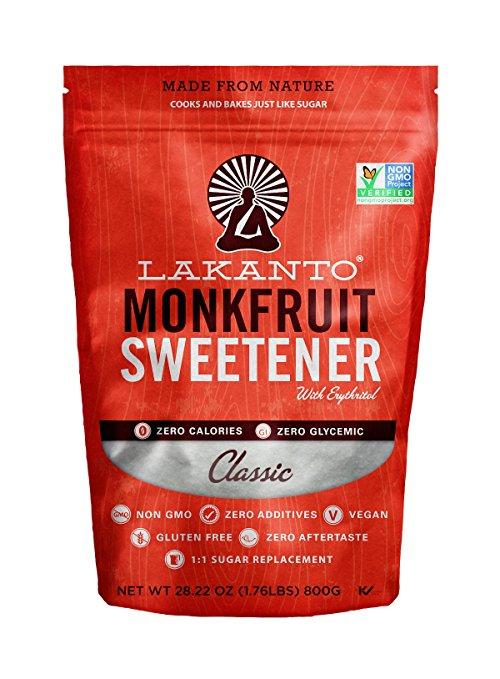 Lakanto Monkfruit 1:1 Sugar Substitute | NON GMO